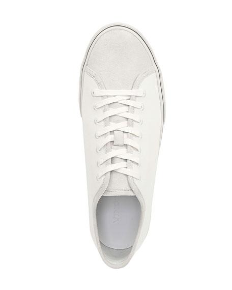 Vince Men's Farrell Canvas & Suede Low-Top Sneakers
