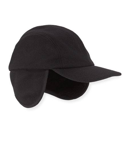 Crown Cap MEN'S BASEBALL CAP W/ FAUX FUR LINING
