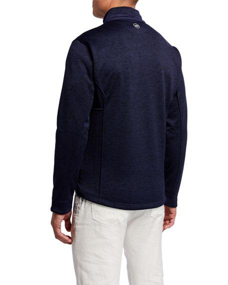 Peter Millar Men's Legacy Fleece Wind Jacket