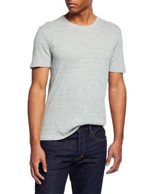 dbf5c82c ATM Anthony Thomas Melillo Slub Jersey Crewneck T-Shirt