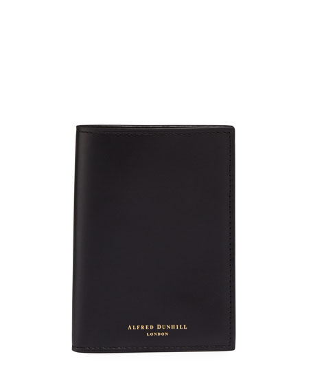 dunhill Men's Duke Leather Business Card Case