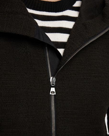 John Varvatos Men's Easy-Fit Zip-Front Hoodie