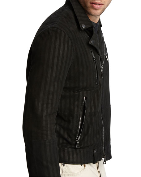 John Varvatos Men's Goatskin Slim-Fit Jacket