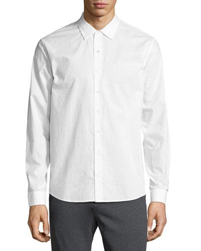 Classic-Fit Dress Shirt  White