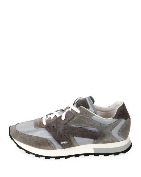 Off-White Men's HG Runner Arrow  Sneakers, Light Gray