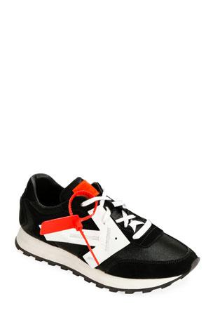 Off-White Men's HG Runner Arrow Sneakers, Black