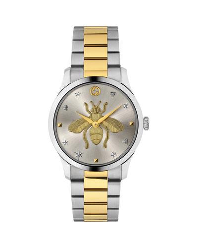Men's Bee Two-Tone Bracelet Watch