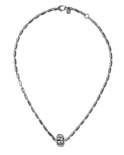 Men's G Logo Pendant Necklace