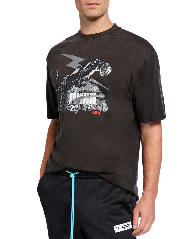 Men's x Rhude Graphic T Shirt