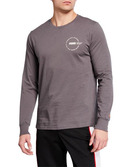 Puma Men's XTG Trail Long-Sleeve Logo T-Shirt