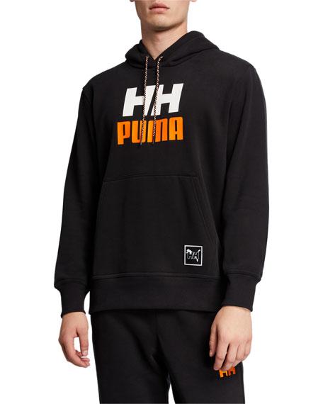 Puma Men's x Helly Hansen Graphic Pullover Hoodie