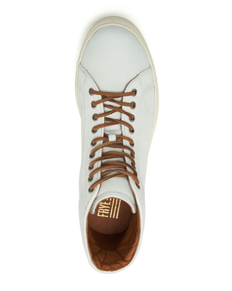 Frye Men's Walker Vintage-Inspired Leather Court Sneakers
