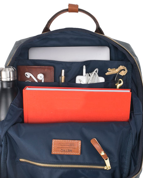 Boarding Pass NYC Men's Metro Briefcase Backpack