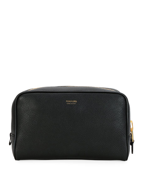 TOM FORD Men's Lifestyle Leather Toiletry Travel Case