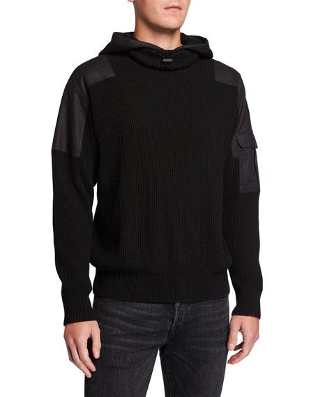 Rag & Bone Men's Andrew Military Pullover Hoodie