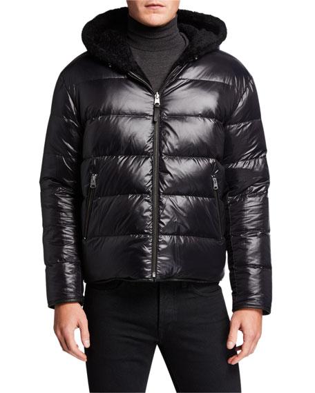 Mackage Men's Bryce Reversible Puffer Coat