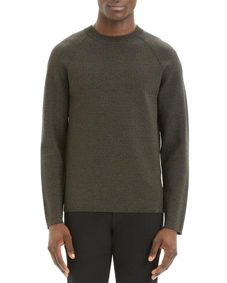 Theory Men's Videla Neopreno Crewneck Sweater