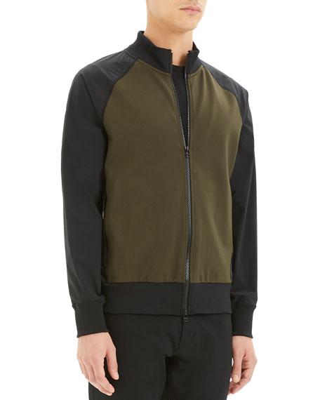 Image 2 of 3: Theory Men's Varro Endurance Two-Tone Active Jacket