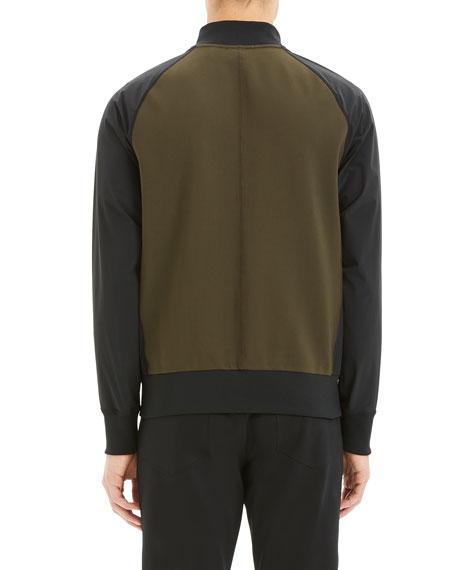 Image 3 of 3: Theory Men's Varro Endurance Two-Tone Active Jacket
