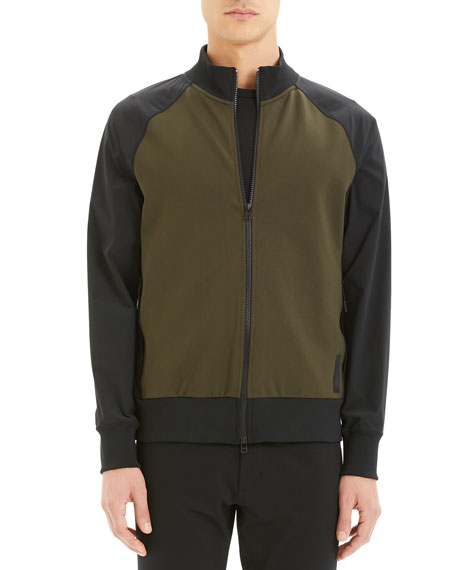 Image 1 of 3: Theory Men's Varro Endurance Two-Tone Active Jacket