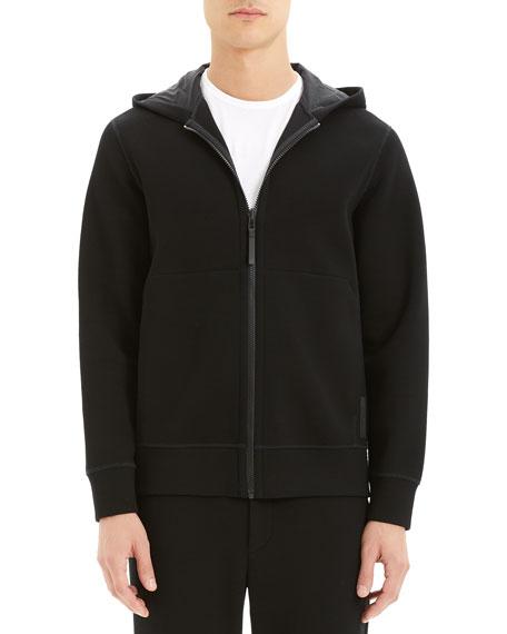 Theory Men's Double-Hooded Scuba-Rib Active Jacket