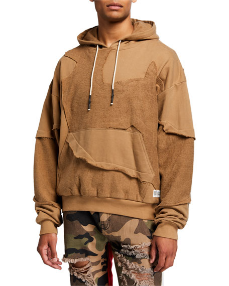 Mostly Heard Rarely Seen Men's Cut Me Up Drop-Shoulder Pullover Hoodie