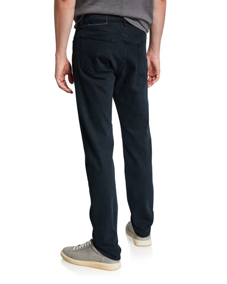 Image 2 of 3: Rag & Bone Men's Standard Issue Fit 2 Mid-Rise Relaxed Slim-Fit Jeans, Dark Wash