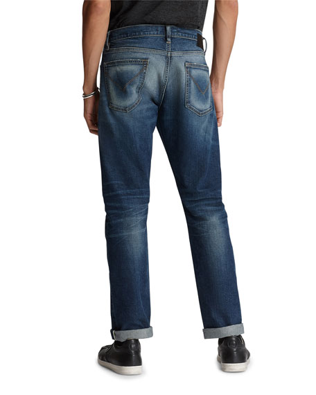 John Varvatos Star USA Men's Wight-Fight Norfolk-Wash Skinny Jeans