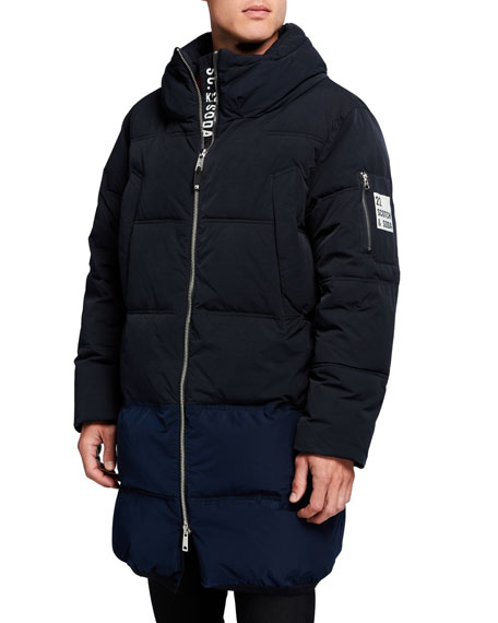Image 2 of 3: Scotch & Soda Men's Long Quilted Jacket