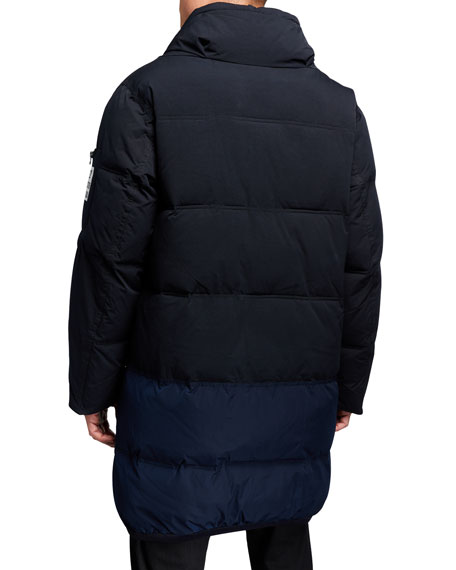 Image 3 of 3: Scotch & Soda Men's Long Quilted Jacket