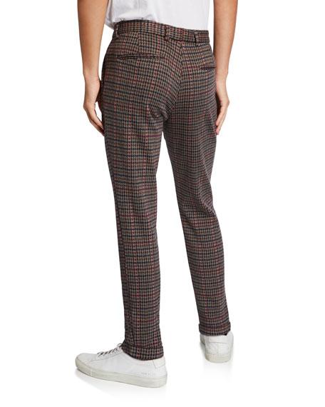 Scotch & Soda Men's Houndstooth Straight-Leg Chino Pants
