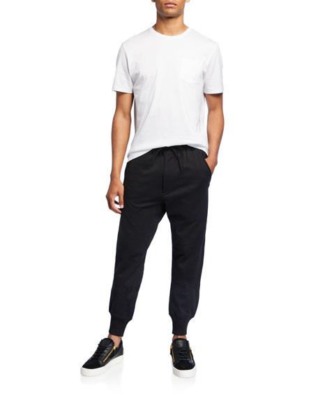 Y-3 Men's Solid Classic Cuff Sweatpants