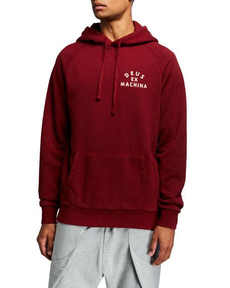 Deus Ex Machina Men's Tokyo Typographic Hoodie Sweatshirt