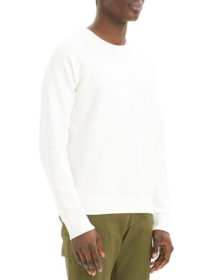 Theory Men's Otto Organic Cotton Crewneck Sweatshirt
