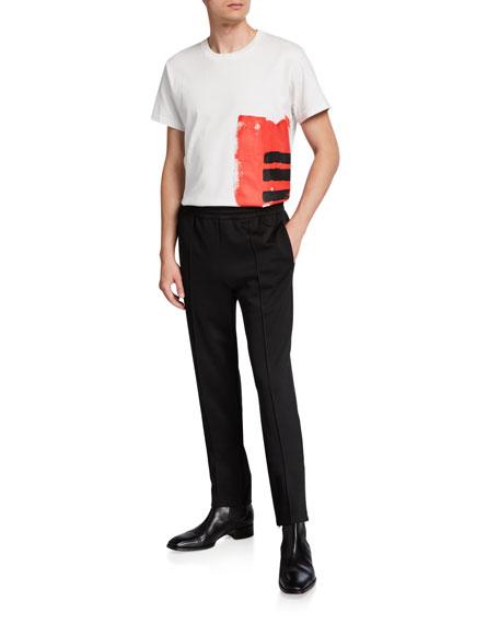 Helmut Lang Men's Jersey Track Pants