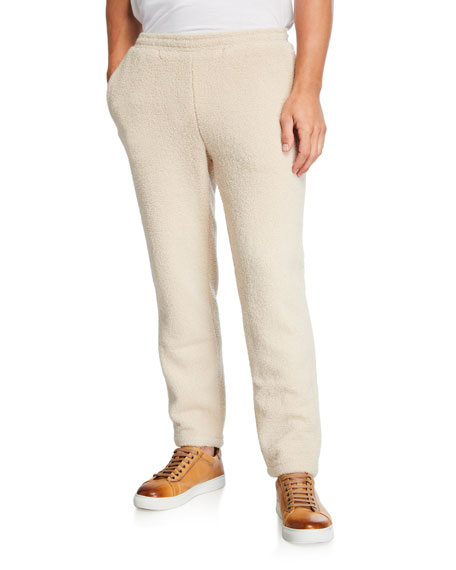 Ovadia & Sons Men's Coze Sherpa Sweatpants