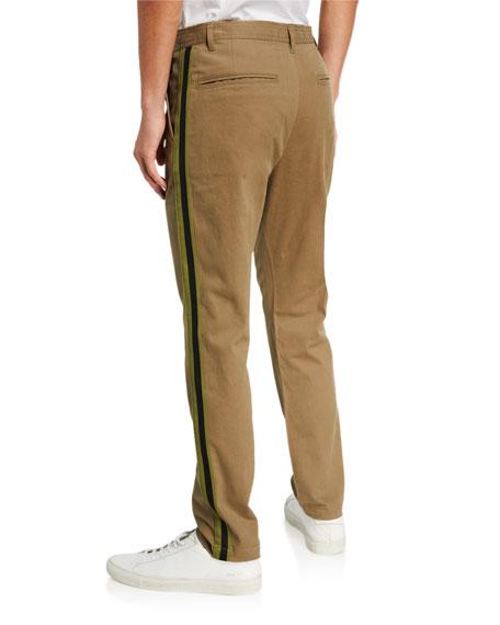 Ovadia & Sons Men's Side-Stripe Chino Pants
