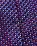 Eton Silk Micro Circle Tie, Red/Blue