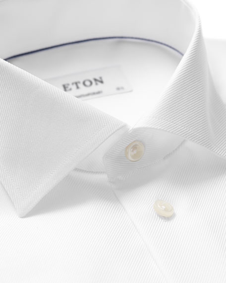 Eton Men's Contemporary-Fit French-Cuff Dress Shirt