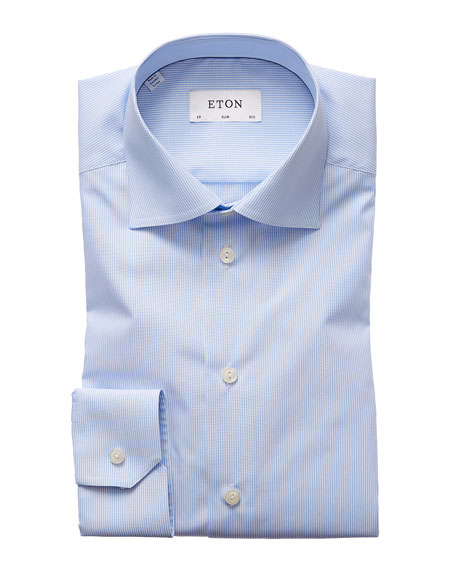 Eton Men's Slim-Fit Striped Dress Shirt