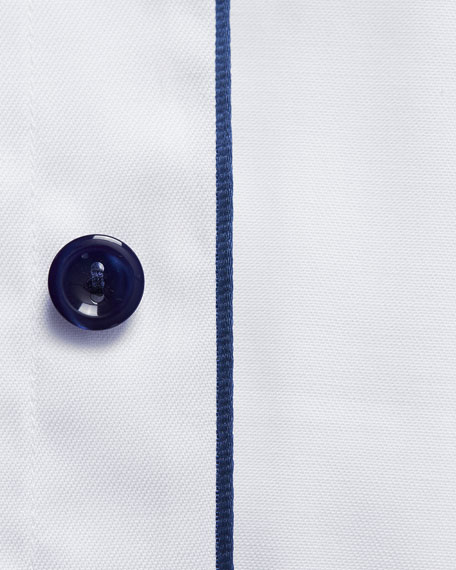 Eton Men's Slim-Fit Poplin Dress Shirt