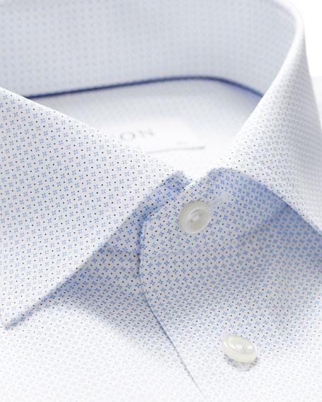 Eton Men's Contemporary-Fit Micro-Print Dress Shirt