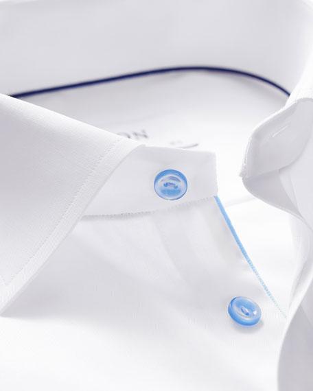 Eton Men's Classic-Fit Poplin Dress Shirt