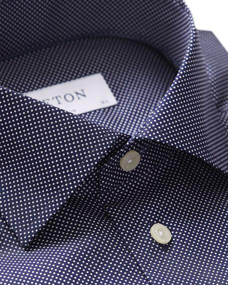 Eton Men's Slim-Fit Dot Dress Shirt
