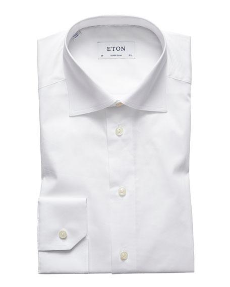 Eton Men's Super Slim-Fit Natural-Stretch Dress Shirt