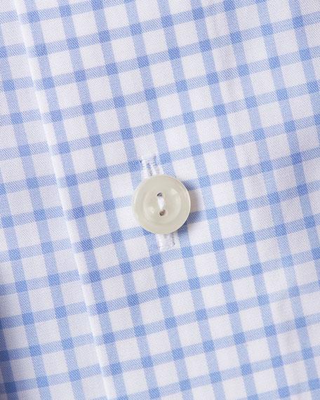 Eton Men's Slim-Fit Grid-Check Dress Shirt