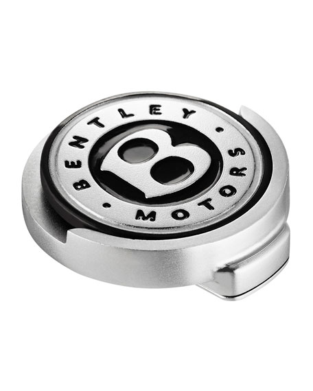 Bentley Golf Men's Stainless Steel Cap Clip/Ball Marker