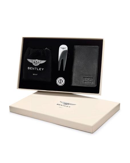 Bentley Golf Men's 4-Piece Golf Gift Set