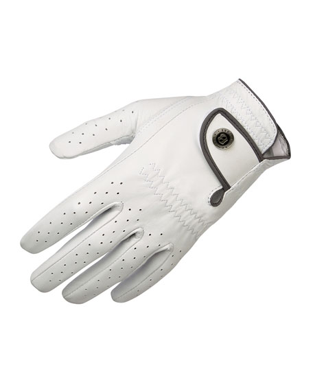Image 1 of 1: Men's Leather Golf Glove