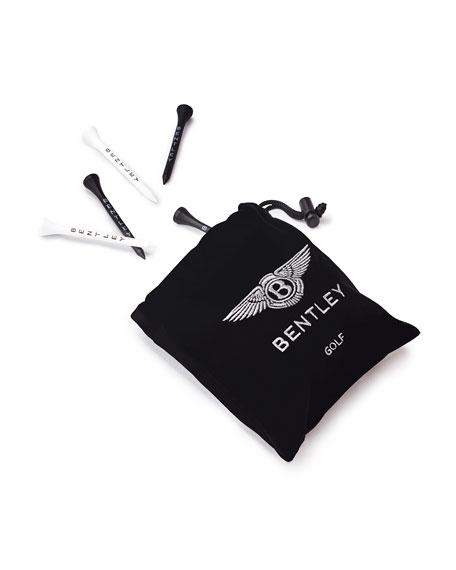 Bentley Golf Men's 30-Tee Velvet Pouch Bag
